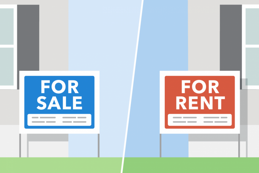 Renting vs buying property in South Africa right now